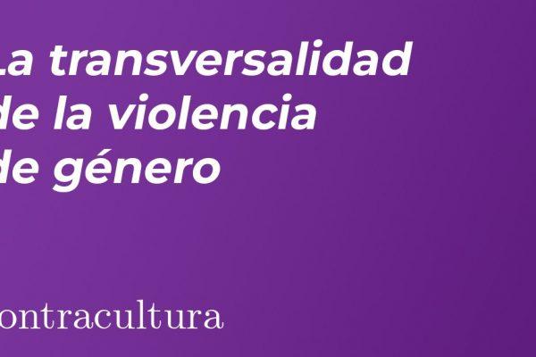 La transversalidad de la violencia de género
